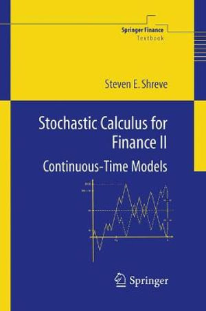 Cover of Stochastic Calculus for Finance II