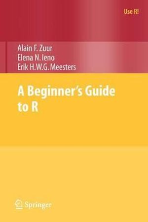 Cover of A Beginner's Guide to R