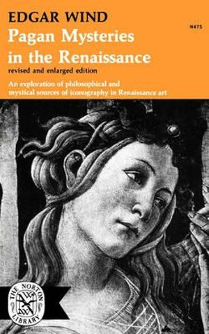 Cover of Pagan Mysteries in the Renaissance