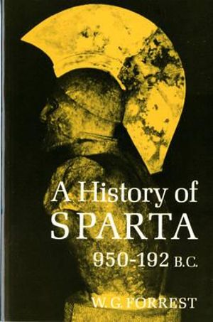 Cover of A History of Sparta, 950-192 B.C.