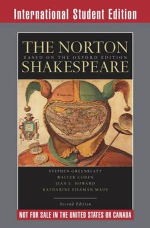 Cover of Norton Shakespeare 2E International Student Edition