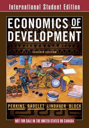 Cover of Economics of Development