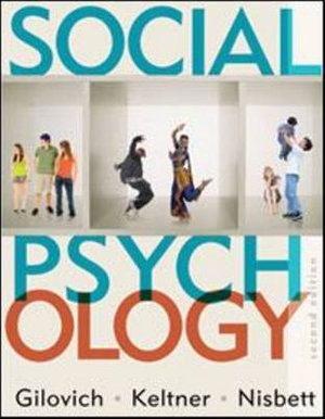 Cover of Social Psychology 2E International Student Edition