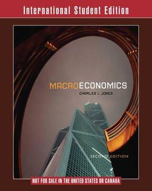 Cover of Macroeconomics 2E International Student Edition