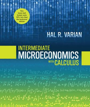 Cover of Intermediate Microeconomics with Calculus