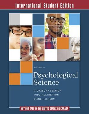 Cover of Psychological Science 5E International Student Edition