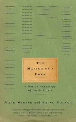 Cover of The making of a poem