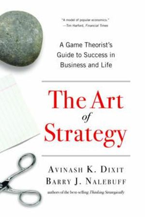 Cover of The Art of Strategy
