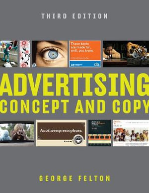 Cover of Advertising: Concept and Copy (Third Edition)