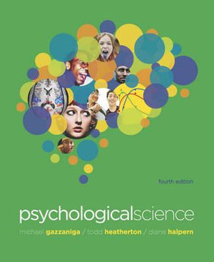 Cover of Psychological Science 4E