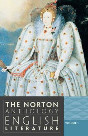 Cover of Norton Anthology of English Literature 9E Volume 1 Paper (a + B + C in One Edition)