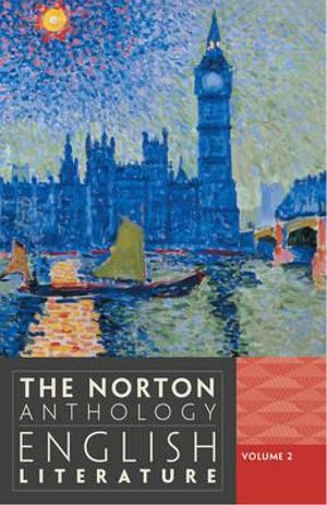 Cover of Norton Anthology of English Literature 9E Volume 2 Paper (D + E + F in One Edition)
