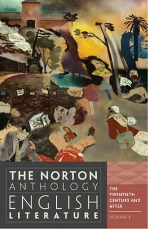 Cover of Norton Anthology of English Literature 9E Volume F 20th Century