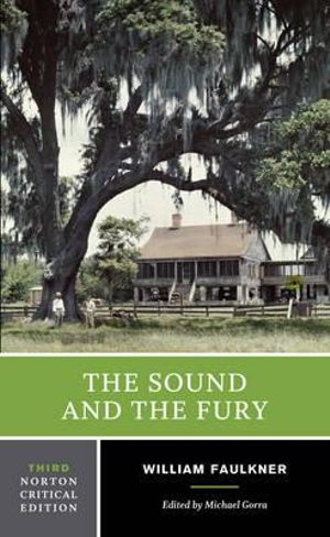 Cover of The Sound and the Fury