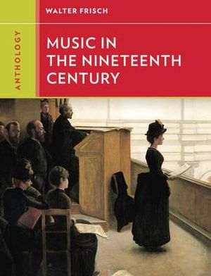 Cover of Anthology for Music in the Nineteenth Century