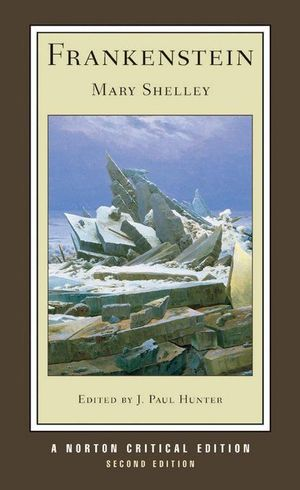 Cover of Frankenstein (Second Edition) (Norton Critical Editions)