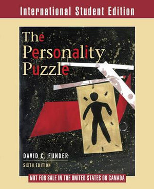 Cover of Personality Puzzle 6E International Student Edition