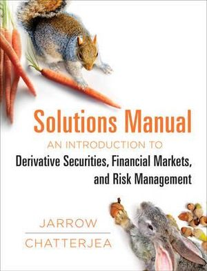 Cover of Solutions Manual