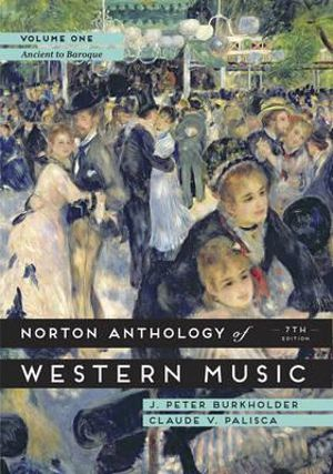 Cover of Norton Anthology of Western Music