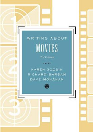 Cover of Writing About Movies