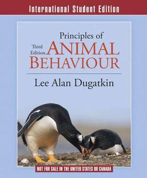 Cover of Principles of Animal Behavior