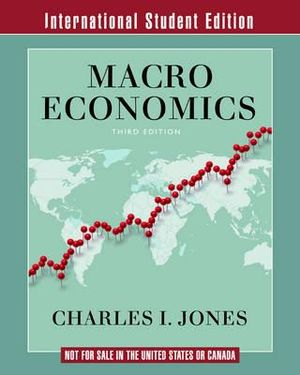 Cover of Macroeconomics 3E International Student Edition
