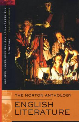 Cover of The Norton Anthology of English Literature