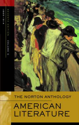Cover of The Norton Anthology of American Literature