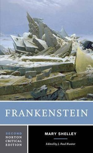 Cover of Frankenstein Norton Critical Edition 2E