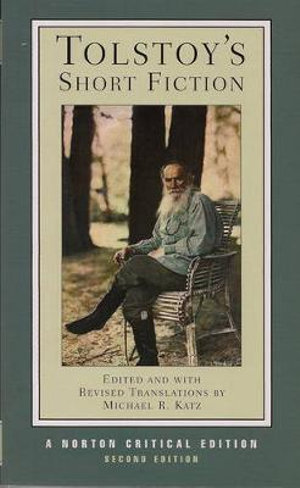 Cover of Tolstoy's Short Fiction Norton Cricial Edition 2E