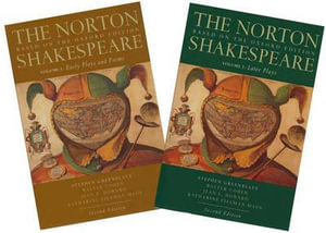 Cover of The Norton Shakespeare, Based on the Oxford Edition
