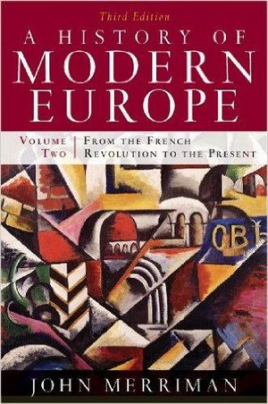 Cover of History of Modern Europe 3E Volume Two