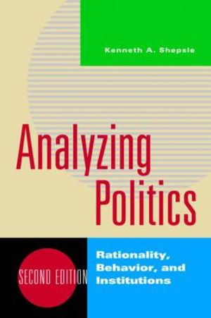 Cover of Analyzing Politics