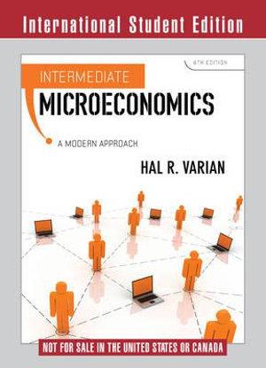 Cover of Intermediate Microeconomics 8E ISE