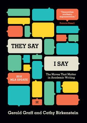 Cover of They Say / I Say