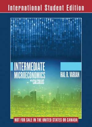 Cover of Intermediate Microeconomics with Calculus a Modern Approach 1E International Student Edition