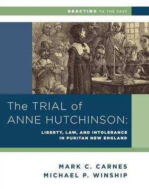 Cover of The Trial of Anne Hutchinson