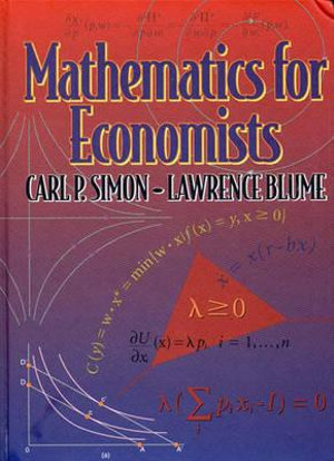Cover of Mathematics for Economists