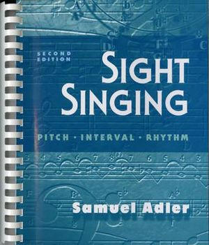 Cover of Sight Singing