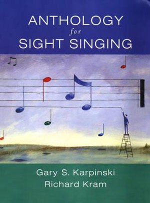 Cover of Anthology for Sight Singing