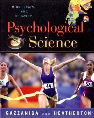 Cover of The Psychological Science