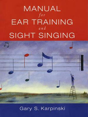 Cover of Manual for Ear Training and Sight Singing