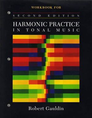 Cover of Workbook for Harmonic Practice in Tonal Music