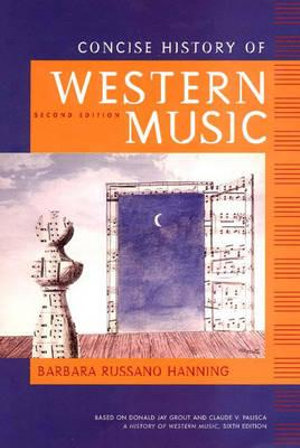 Cover of Concise History of Western Music