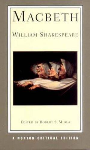 Cover of Macbeth Norton Critical Edition