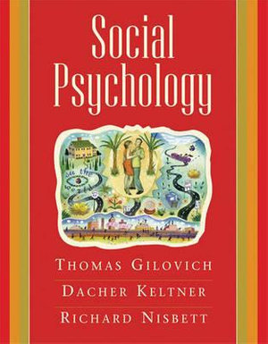Cover of Social Psychology
