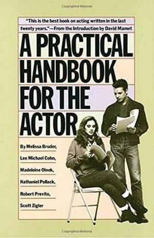 Cover of A Practical Handbook for the Actor