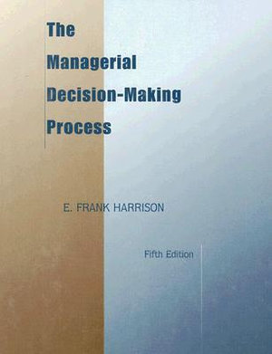Cover of The Managerial Decision-making Process