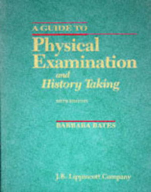Cover of A Guide to Physical Examination and History Taking