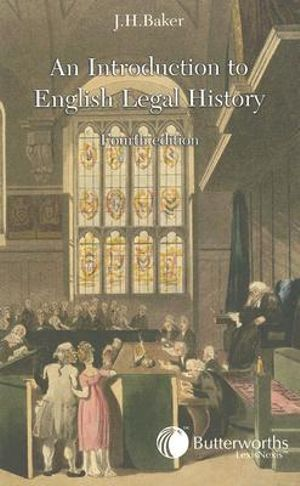 Cover of Introduction to English Legal History